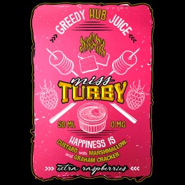 PACK MISS TURBY + 1 booster offert - GREEDY HUB JUICE - 50mL